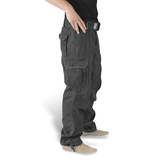 kalhoty pánské SURPLUS - PREMIUM VINTAGE TR. - Black
