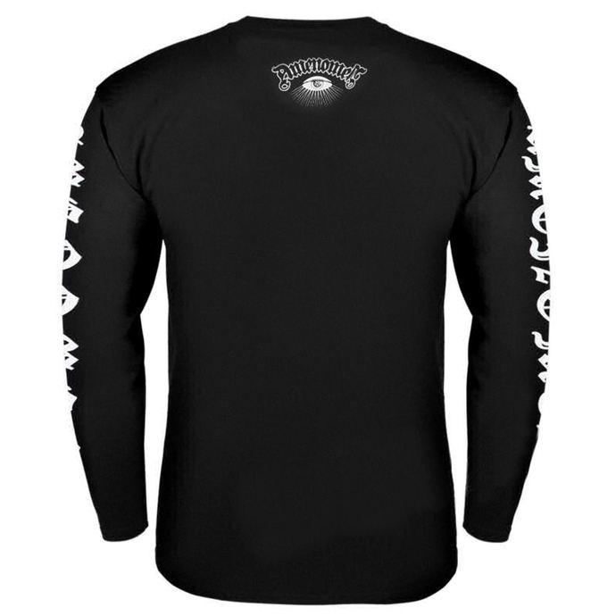tričko pánské s dlouhým rukávem AMENOMEN - SKELETON DA VINCI