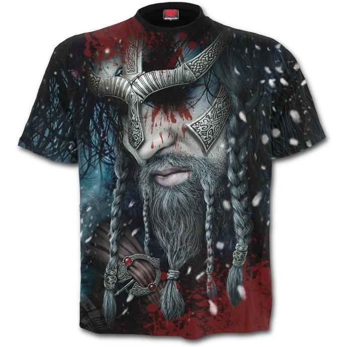 tričko pánské SPIRAL - VIKING WRAP - Black