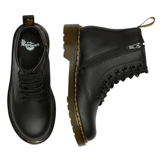 boty dětské DR. MARTENS - 8. dírkové - 1460 J SOFTY T BLACK