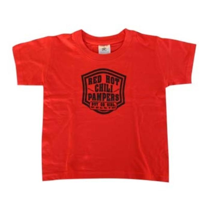 tričko dětské ROCK DADDY - Red Hot Pampers - Red - 16002-005
