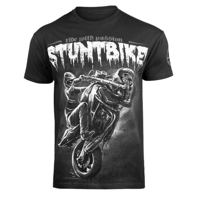 tričko pánské ALISTAR - Stuntbike