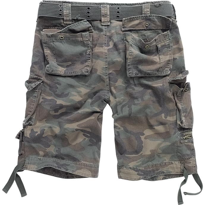 kraťasy pánské BRANDIT - Gladiator Vintage Shorts - Woodland
