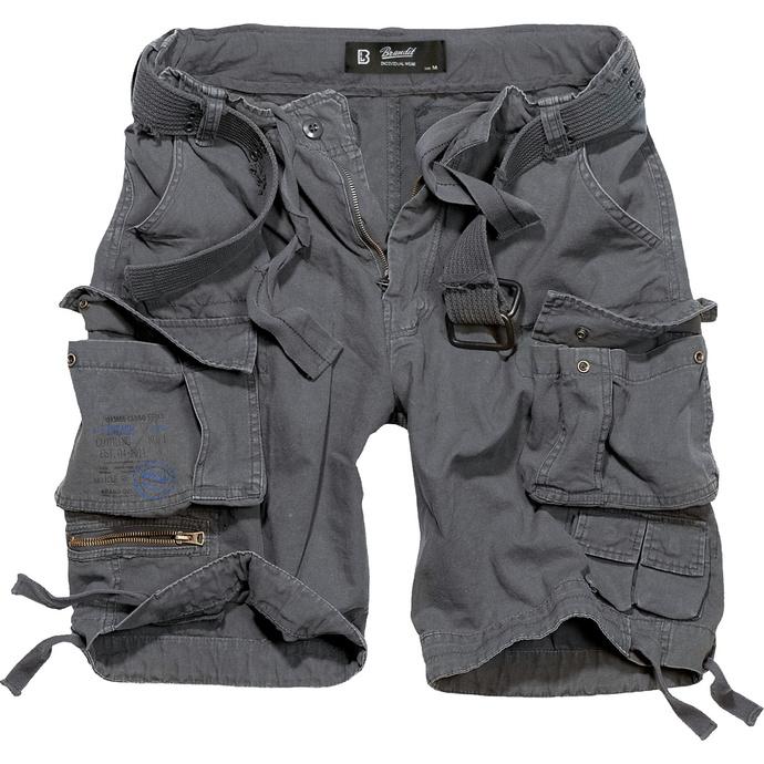 kraťasy pánské BRANDIT - Gladiator Vintage Shorts Anthracite
