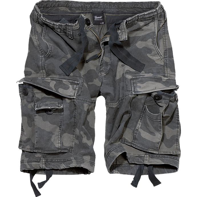 kraťasy pánské BRANDIT - Vintage Shorts Darkcamo