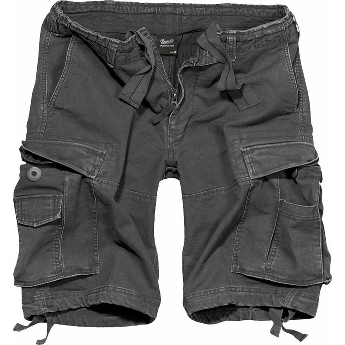 kraťasy pánské BRANDIT - Vintage Shorts Anthracite