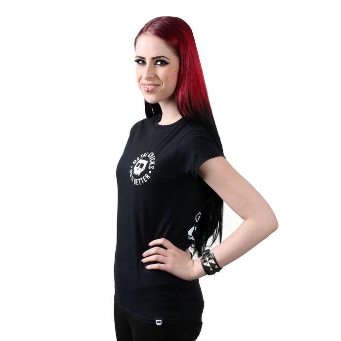 tričko dámské METAL CHICKS DO IT BETTER - Indian