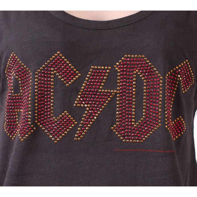 tílko dámské AC/DC - CLASSIC LOGO CHARCOAL - AMPLIFIED