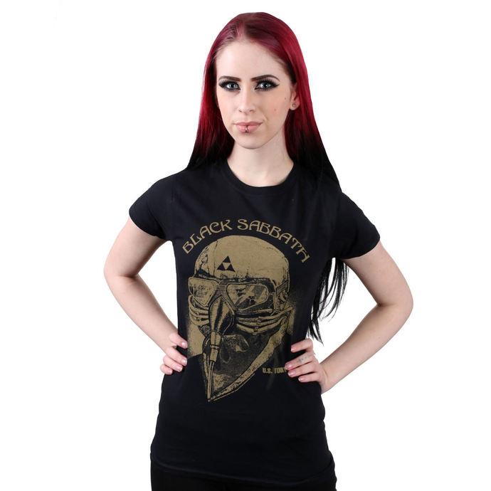 tričko dámské Black Sabbath - US Tour 78 - BLK - ROCK OFF