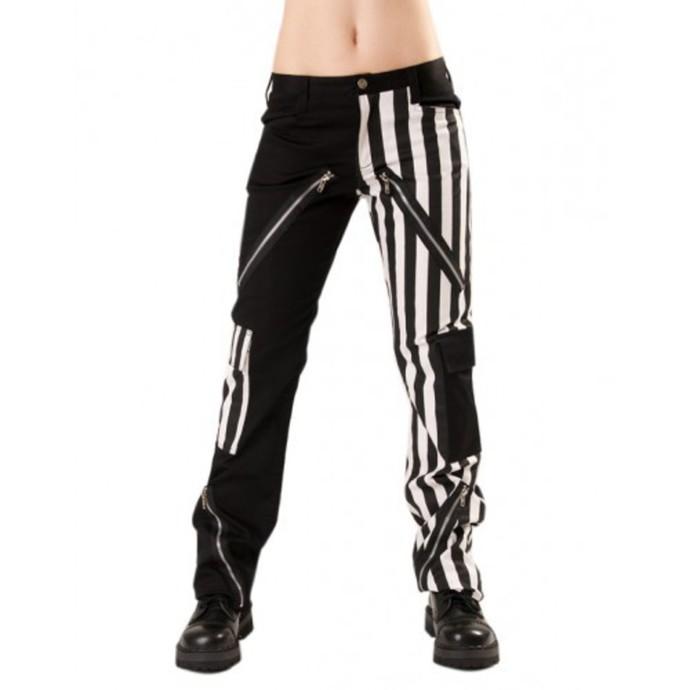 kalhoty pánské Black Pistol - Freak Pants Stripe Black/White
