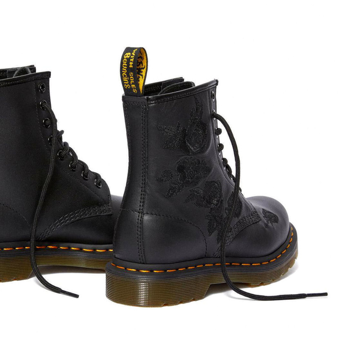 boty DR. MARTENS - 8 dírkové - 1460 VONDA MONO