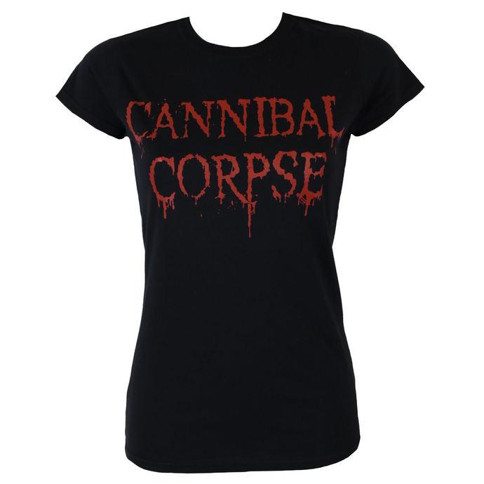 tričko dámské CANNIBAL CORPSE - DRIPPING LOGO - PLASTIC HEAD
