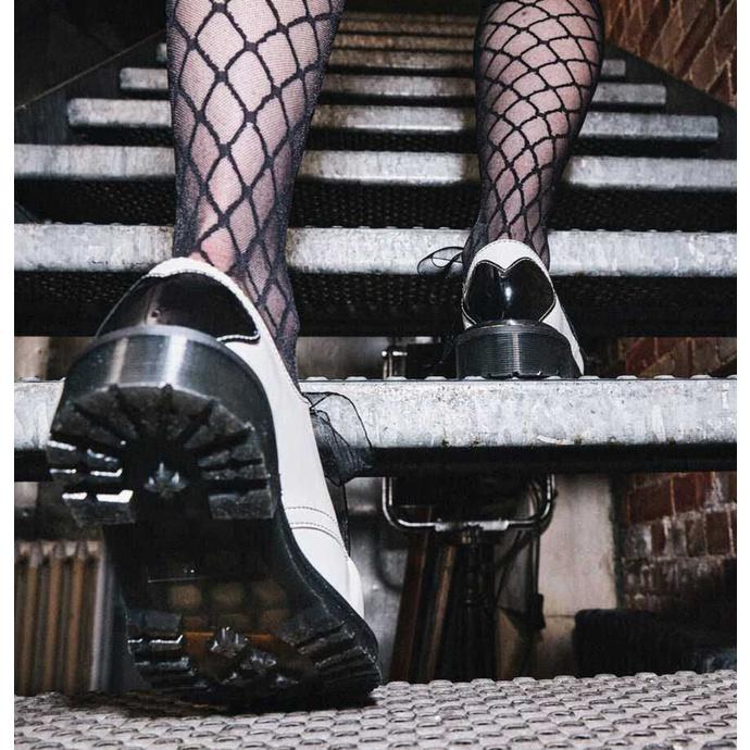 boty dámské DR. MARTENS - 1461 Hearts - white/black