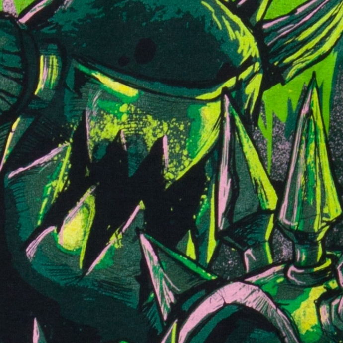 tričko pánské GWAR - Destroyers - Black w/ Green - INDIEMERCH