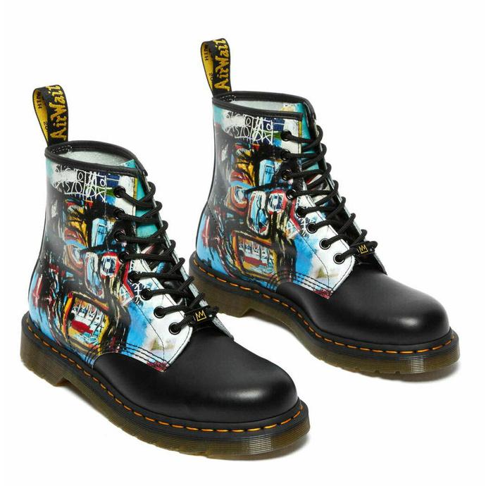 boty DR. MARTENS - 8 dírkové - 1460 Basquiat