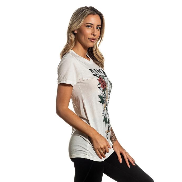 tričko dámské SULLEN - TANGLED - ANTIQUE WHITE
