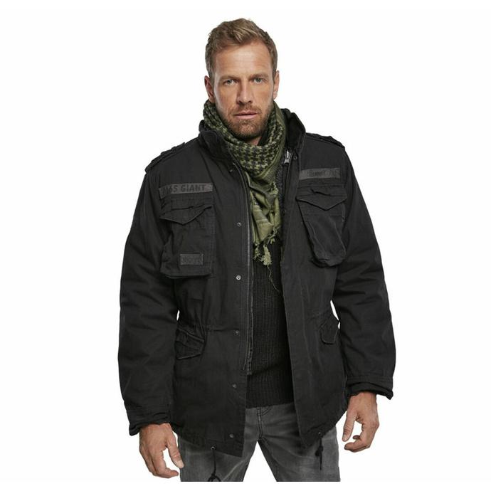 bunda pánská zimní BRANDIT - M65 Giant Black