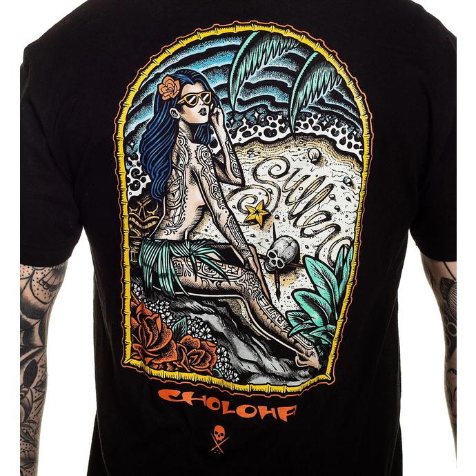 tričko pánské SULLEN - CHOLOHA BEACH - BLACK