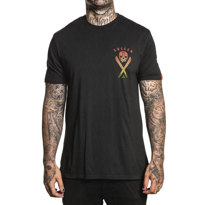 tričko pánské SULLEN - LIO BADGE - BLACK