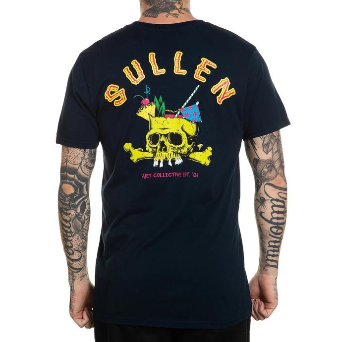 tričko pánské SULLEN - BRAIN DEAD - NAVY