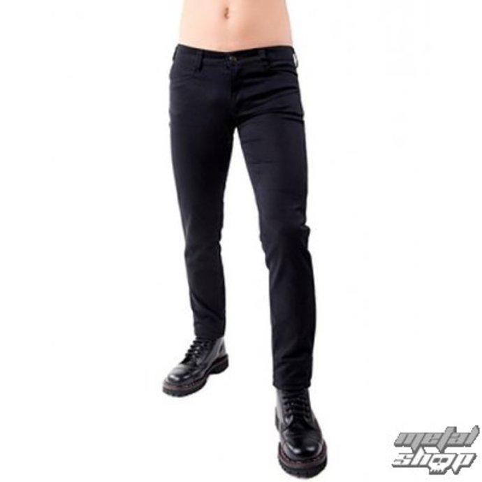 kalhoty pánské Black Pistol - Close Pants Denim Black