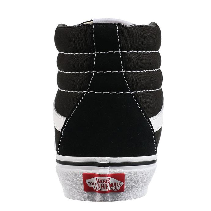 boty VANS - Sk8-Hi - BLACK/BLACK/WHITE