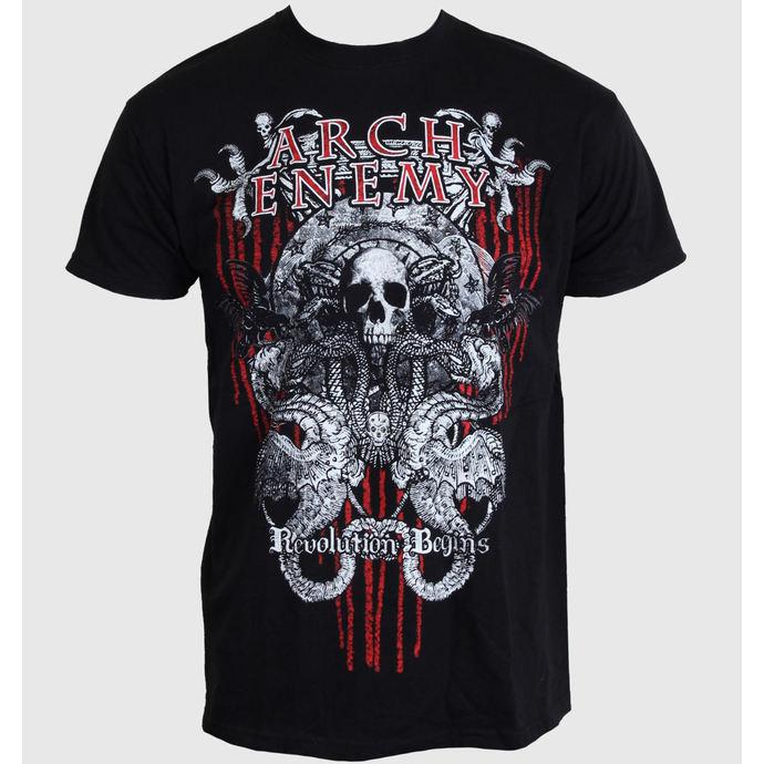 tričko pánské Arch Enemy - Revolution Begins 1 - Black - 185697 - ART