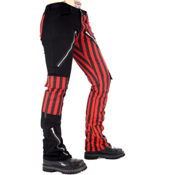 kalhoty pánské Black Pistol -  Freak Pants Stripe  (Black/Red)