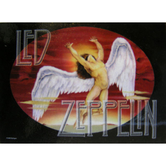 vlajka Led Zeppelin - Icarus