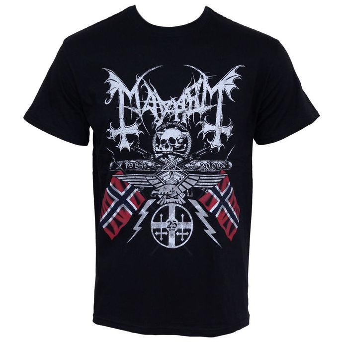 tričko pánské Mayhem - 25 Years Coat of Arms - ST1351