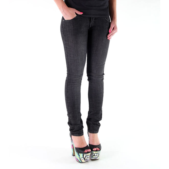 kalhoty dámské (jeansy) METAL MULISHA - Babe Skinny