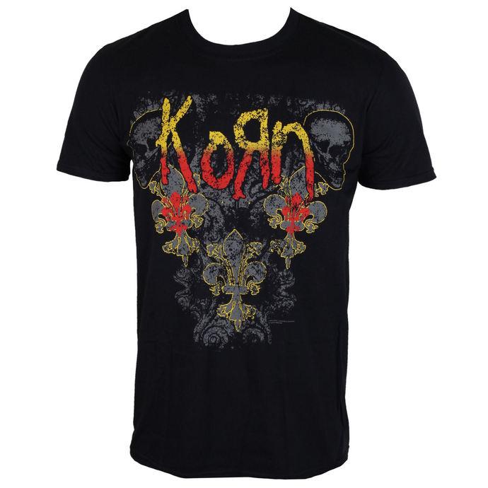 tričko pánské Korn - Skull de lis - ROCK OFF