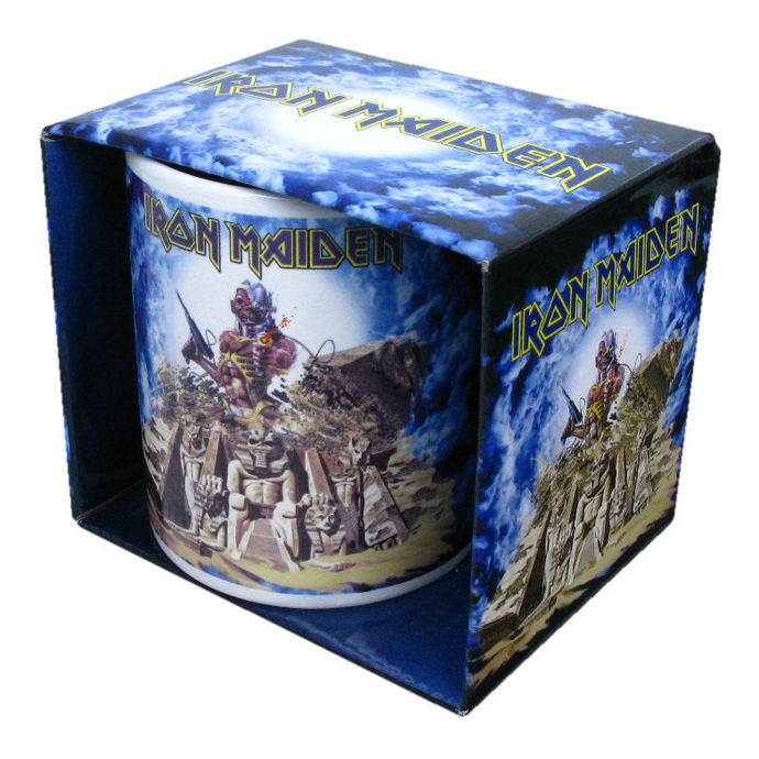 hrnek Iron Maiden - Somewhere Back In Time - ROCK OFF
