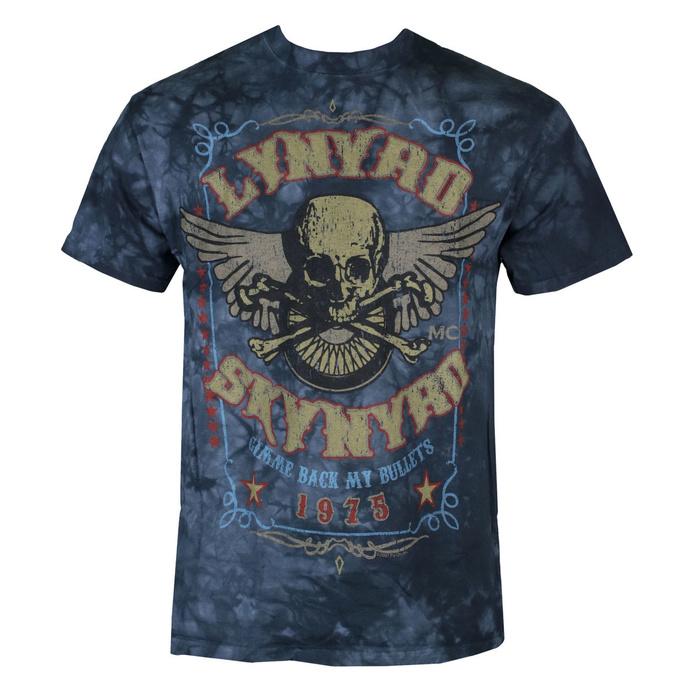 tričko pánské Lynyrd Skynyrd - Gimme Back My Bullets - LIQUID BLUE