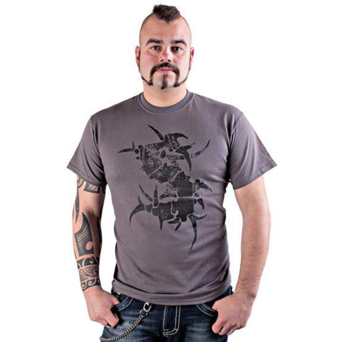tričko pánské Sepultura - Logo grey - NUCLEAR BLAST