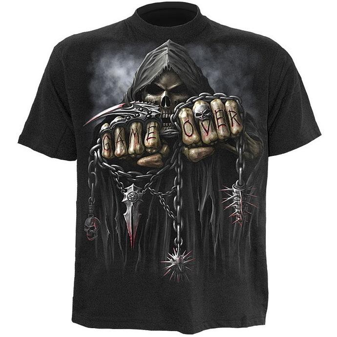 tričko pánské SPIRAL- Game Over - Black