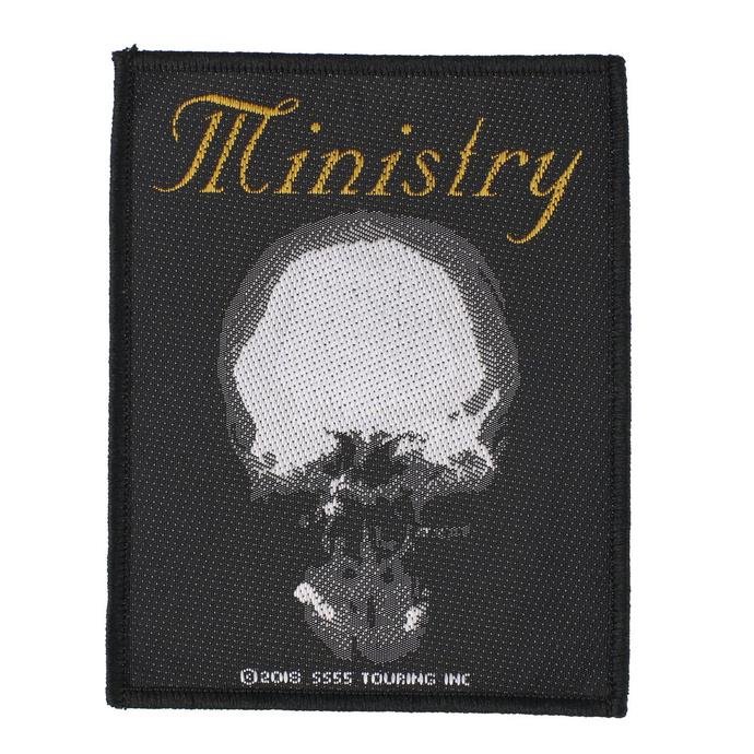 nášivka Ministry - The Mind Is A Terrible Thing To Taste - RAZAMATAZ