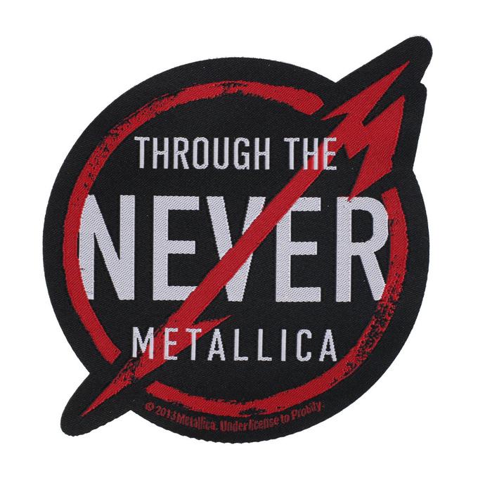 nášivka Metallica - Through The Never - RAZAMATAZ