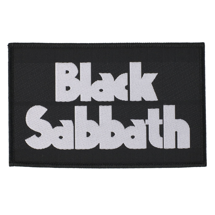 nášivka Black Sabbath - Logo - RAZAMATAZ