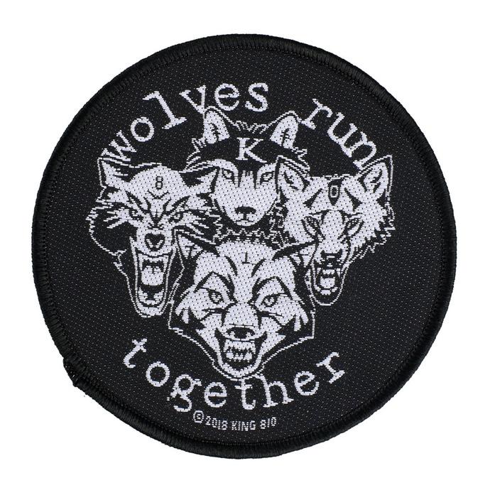 nášivka King 810 - Wolves Run Together - RAZAMATAZ