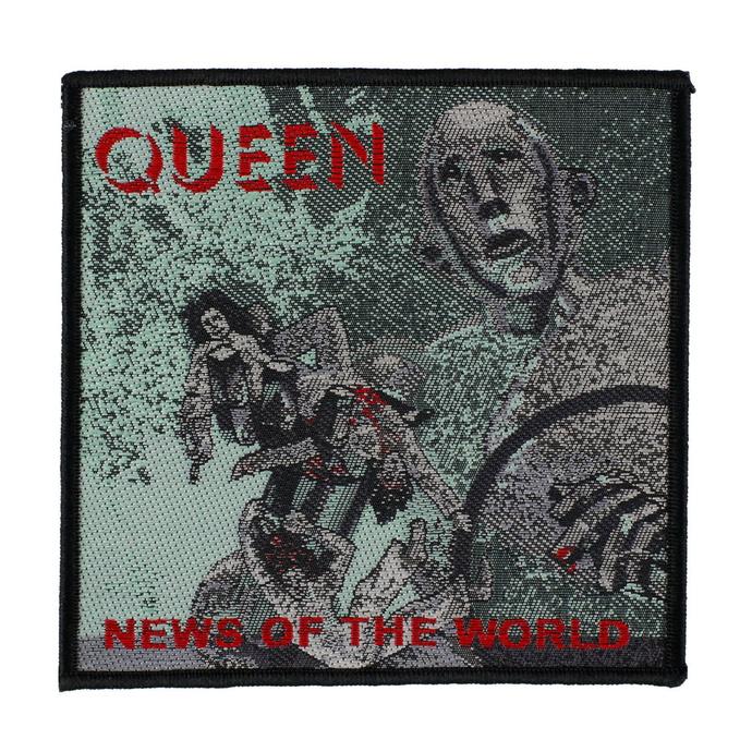nášivka Queen - News Of The World - RAZAMATAZ