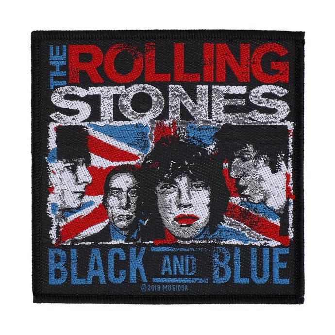 nášivka The Rolling Stones - Black And Blue - RAZAMATAZ