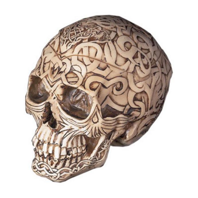 krabička na drobnosti Celtic Skull