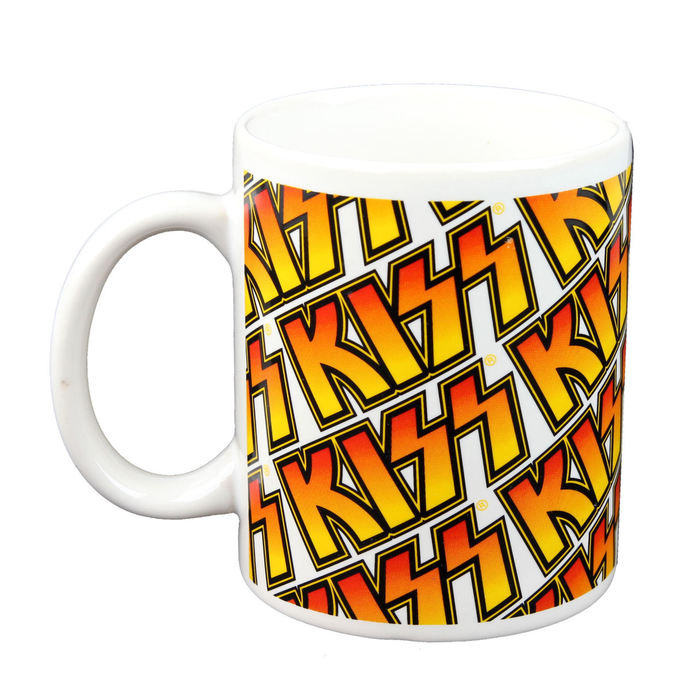 hrnek - KISS - Boxed Mug Kiss (Tiles) - ROCK OFF