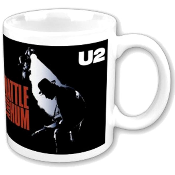 hrnek U2 - Rattle and Hum boxed Mug - ROCK OFF