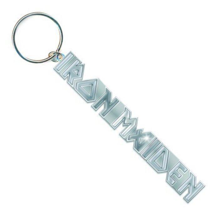 klíčenka (přívěšek) Iron Maiden - Logo with No Tails Key Chain - ROCK OFF