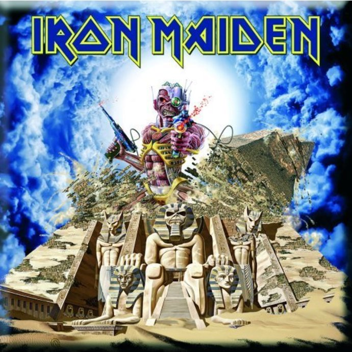 magnet Iron Maiden - Somewhere Back In Time Fridge Magnet - ROCK OFF
