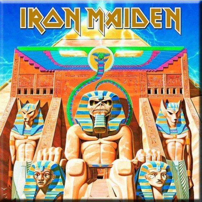 magnet Iron Maiden - Power Slave Fridge Magnet - ROCK OFF