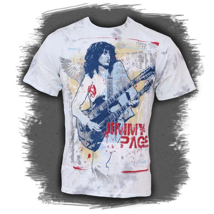 tričko pánské Jimmy Page - Double Your Pleasure - LIQUID BLUE