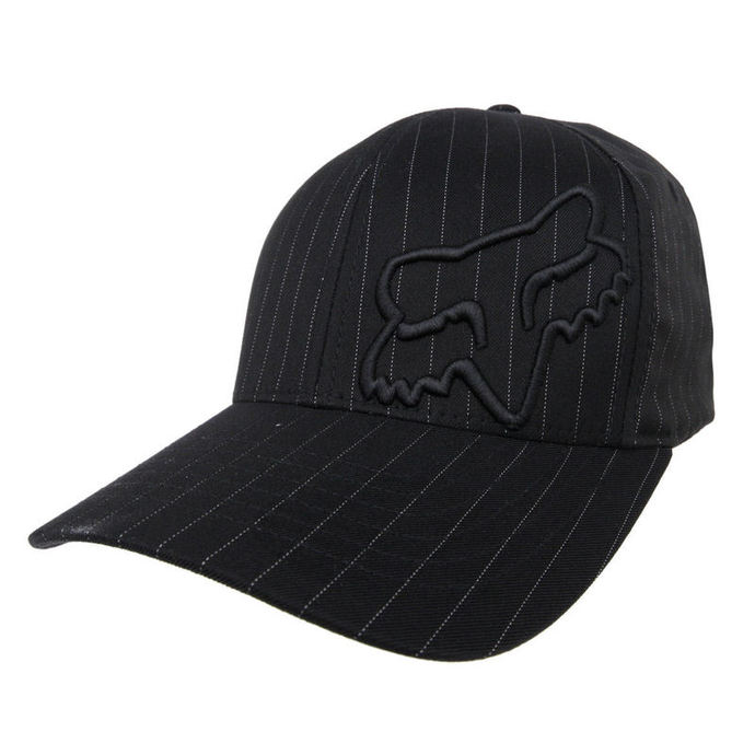 kšiltovka FOX - Flex 45 - BLACK PINSTRIPE